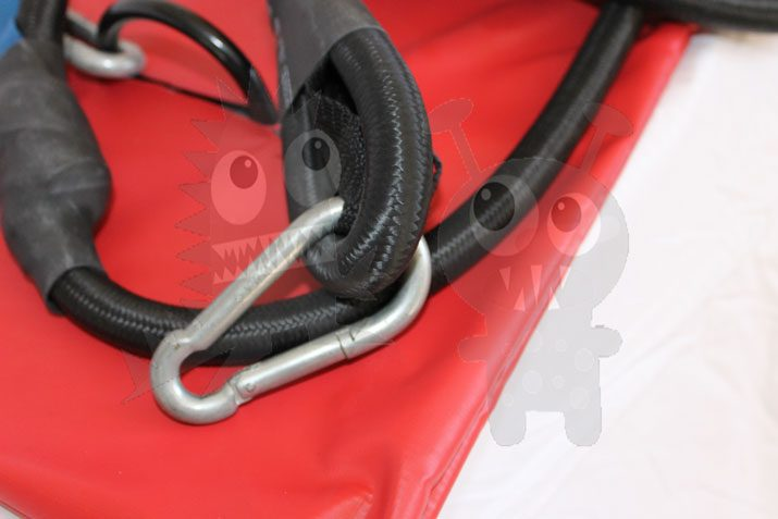 Bungee Run Plate & Shock Cord For Inflatables