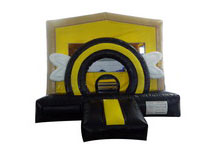 Black and Yellow Bumble Bee Motif Bouncer with Arch and Wings