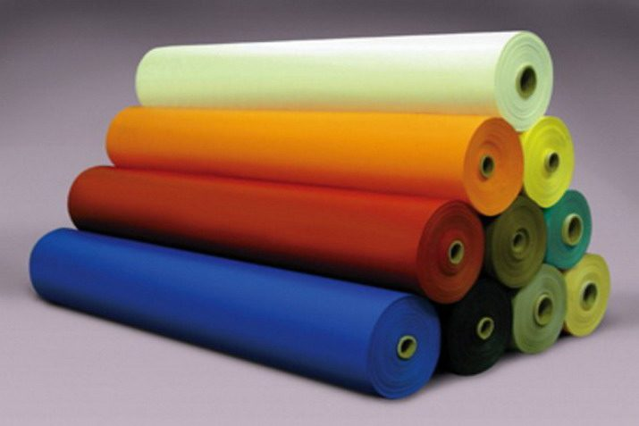 Rolls of Colored PVC Vinyl Knitted Commercial Inflatable Fabric