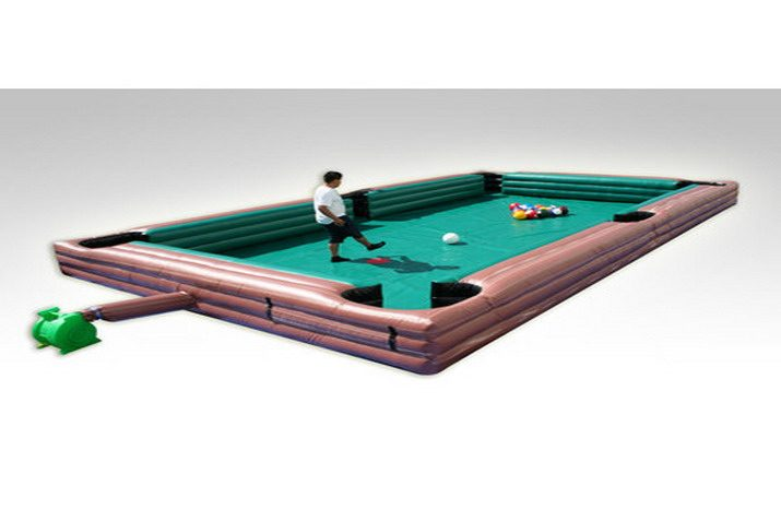 Inflatable Human Billiard Sports Game Commercial Inflatable For Sale