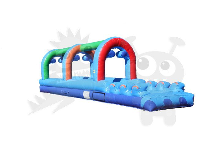 36' Slip Slide & Dip with Pool Single Lane Commercial Inflatable For Sale