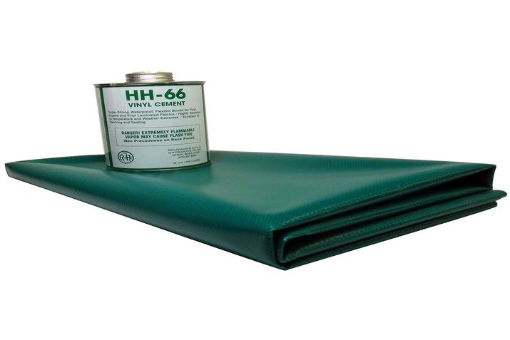 Inflatable Repair Kit with HH-66 Vinyl Cement glue and fabric