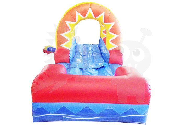 18' Water Slide Attachment Sunshine Slip 'n Slide Commercial Inflatable For Sale